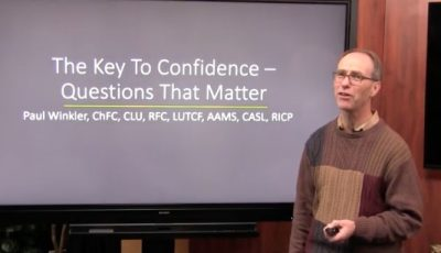 The key to confidence – Questions that matter