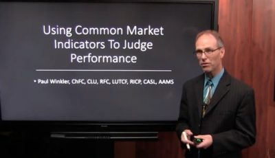 Using Common Market Indicators To Judge Performance